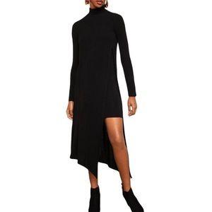 BCBGMaxAzria Kabrina Synthetic Midi Dress Size XXS
